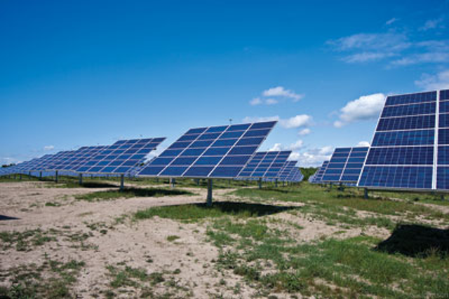 Solar Farm Underground Wiring is Long-lasting With High