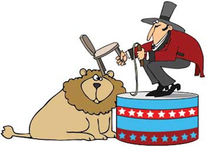 Bigstock Lion Tamer 4834649