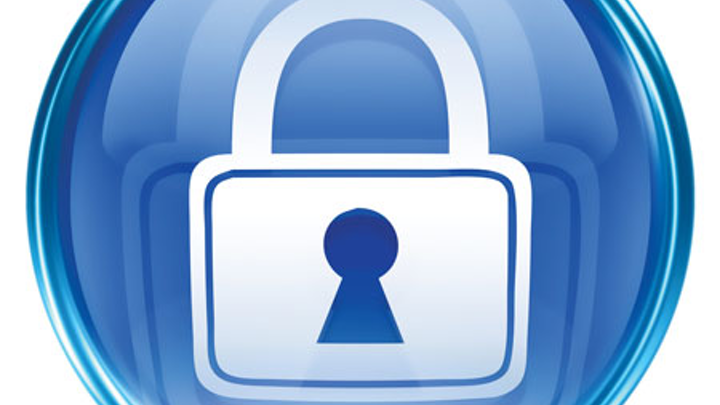 Bigstock Lock Icon Blue Isolated On Wh 2916148