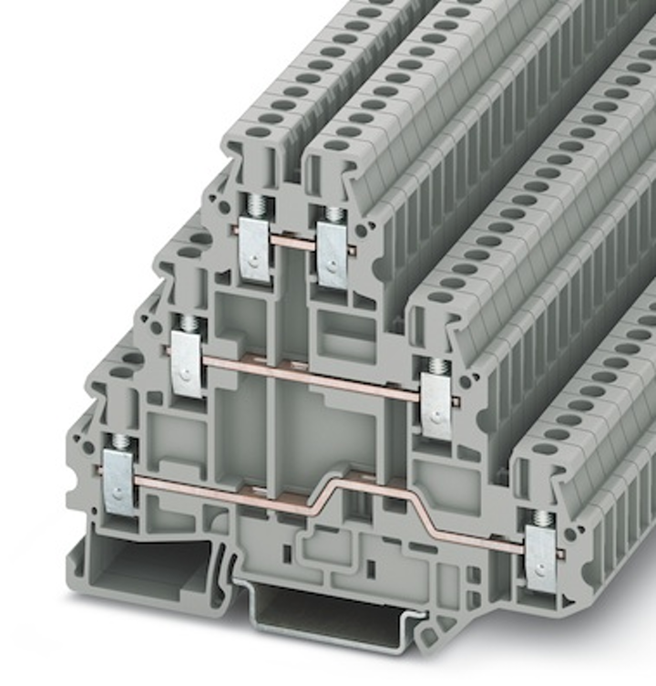 screw-clamp terminal blocks