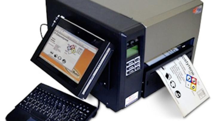 labeler print station