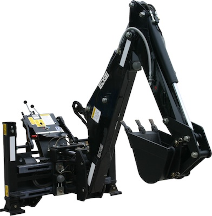 EDGE In-Cab Backhoe attachment for skid steer loaders | Utility Products