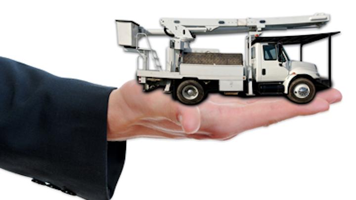 Gps Hand Bucket Truck