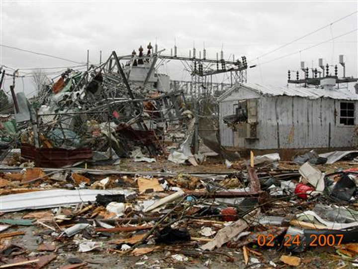 Sometimes dubbed 'Superstorm Sandy' or the 'Frankenstorm,' Hurricane Sandy was the deadliest and most destructive hurricane of the 2012 hurricane season. The storm impacted half the states in the Union, but New Jersey and New York took the brunt of the storm. The day after the storm, about 6 million customers were without power in 15 states.