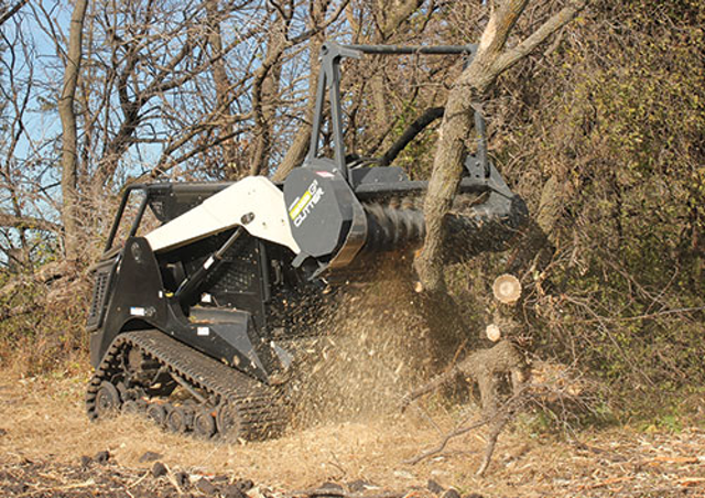 Go Small or Go Home -- Vegetative clearing gets versatile