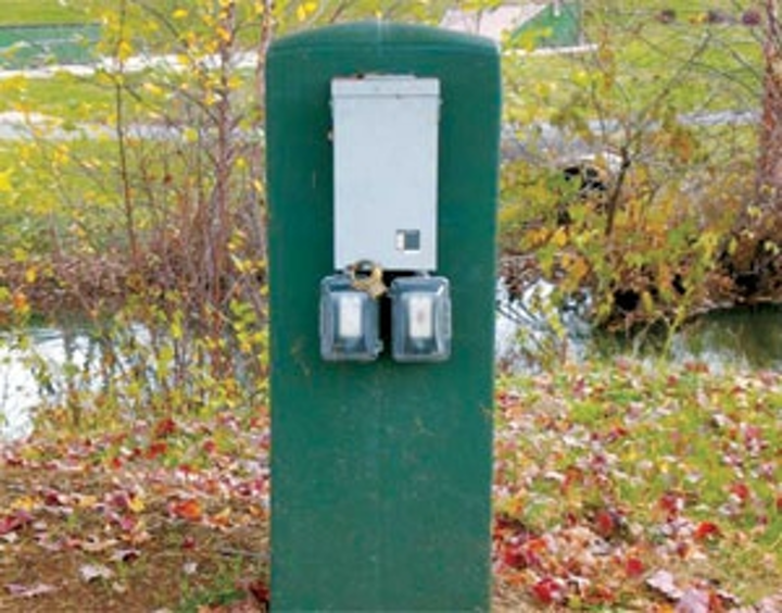 Innovative Use of Plastic Meter Pedestal | Utility Products
