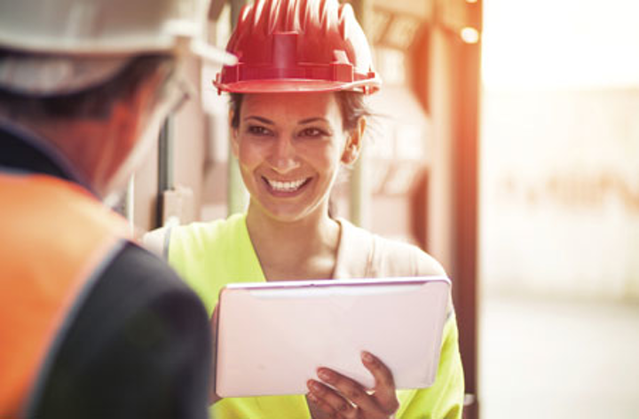 Content Dam Up Print Articles Volume 20 Issue 4 1604upfea Schneider P04 Utility Worker On Tablet