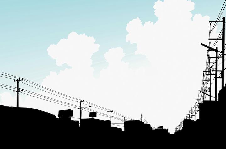 Bigstock Urban Clouds 6663406