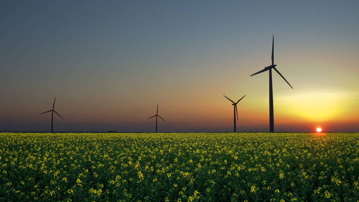 Content Dam Pennenergy Online Articles 2014 09 Wind Farm Sunset