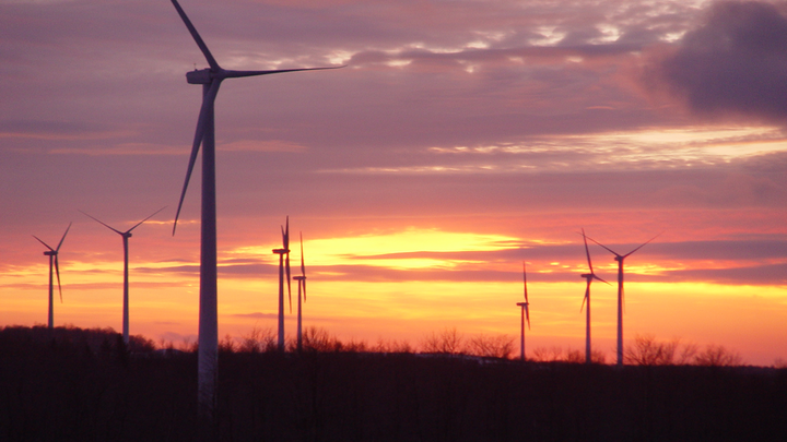 Content Dam Pennenergy Online Articles 2014 11 Wind Farm Sunset