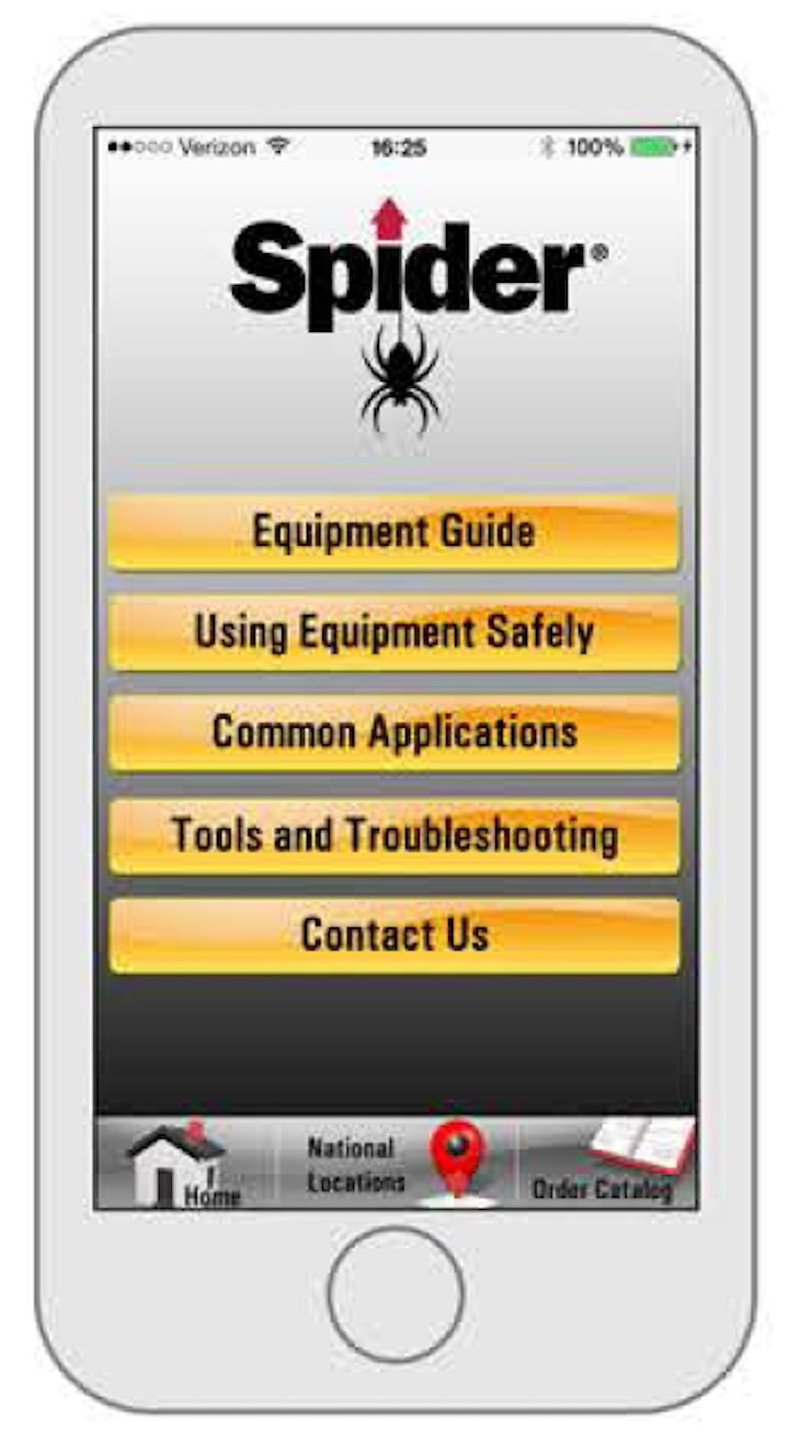 Content Dam Up En Articles 2014 05 Utility Equipment Spider Goes Mobile With The First Iphone App Leftcolumn Article Thumbnailimage File