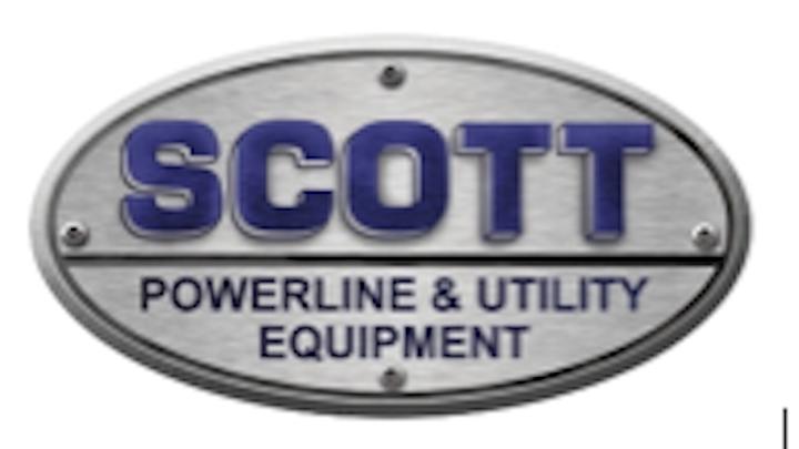 boom trucks digger derricks construction equipment Scott Powerline