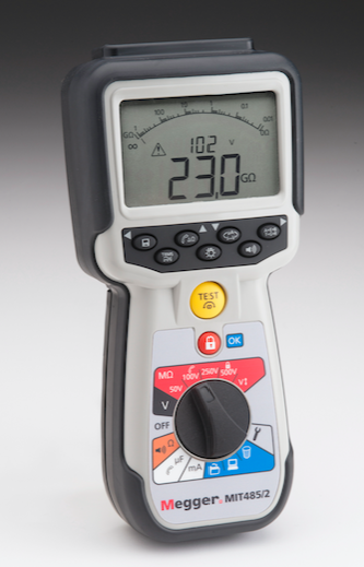 Wire Insulation Tester   Test Products Enhanced Insulation Tester Series Features Three Wire