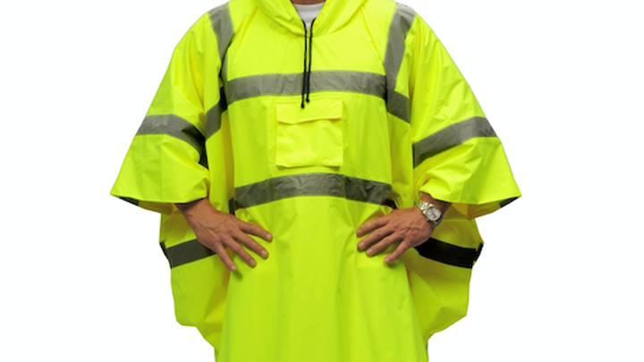 low priced b339c 996c3 Content Dam Up En Articles 2017 04 Safety Clothing Breathable Ripstop Hi  Viz Reflective Rain Poncho