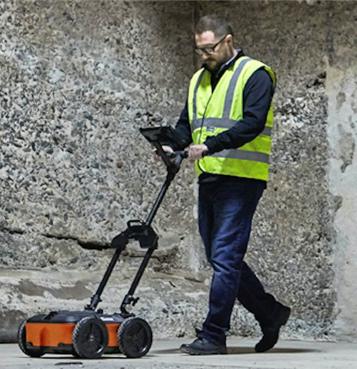 Electrical tools: GPR system quickly identifies and marks