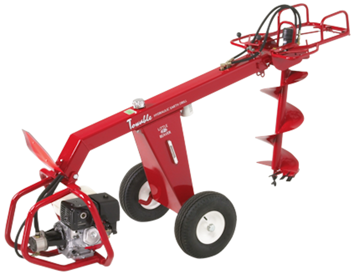 Utility tools: Towable hydraulic earth drill | Utility Products