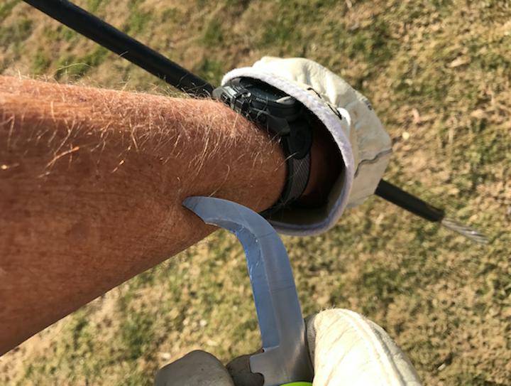 Safety Blade – No Cut Zone