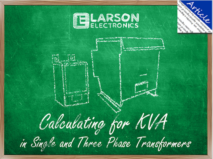 Energy management: Calculating for KVA in single and three
