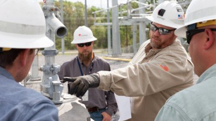 New substation training site for Exelon transmission employees.