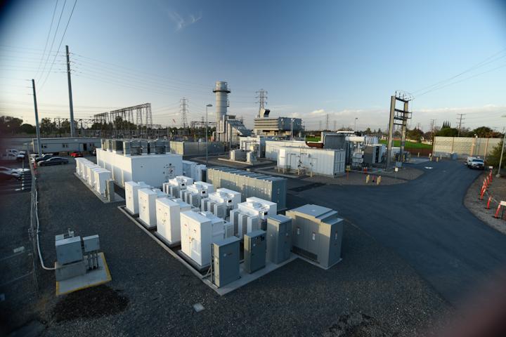 energy storage battery gas turbine