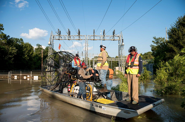 Outage management and customer service during Hurricanes Harvey and Irma
