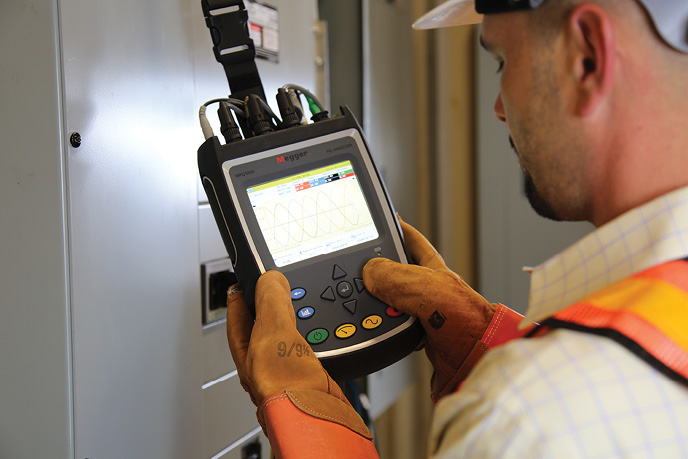 A load study can be performed with an appropriate power quality meter and is done in response to power problems or to any expansion or alteration of a facility.