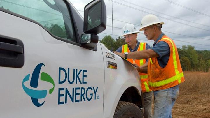 Duke Energy Truck+2+employees Mid